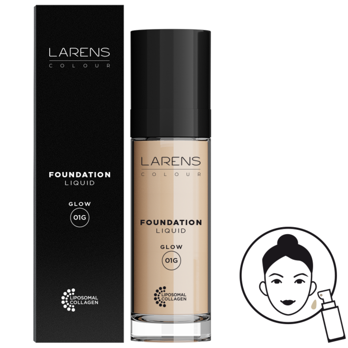 Larens Colour Liquid Foundation Glow
