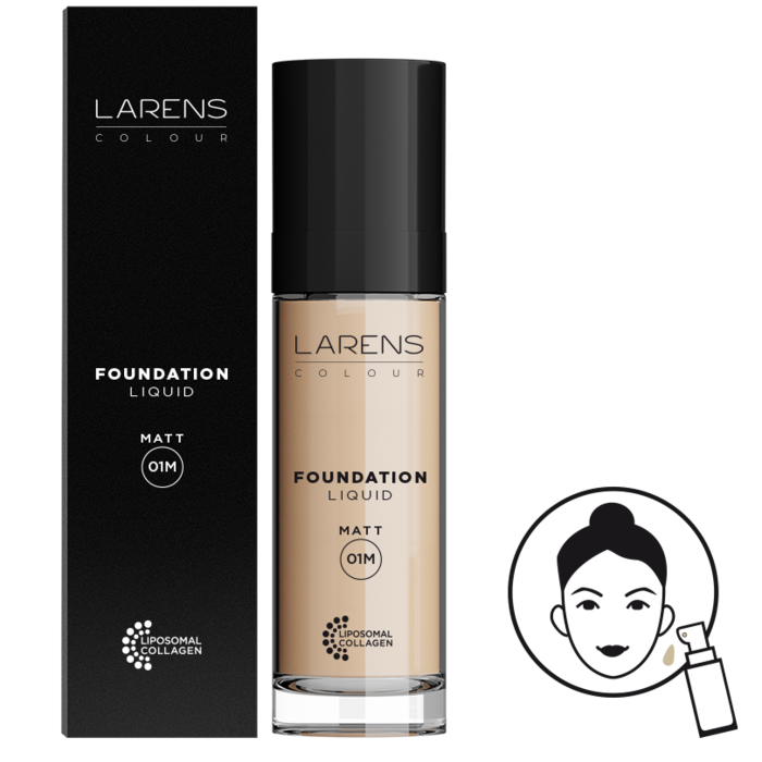 Larens Colour Liquid Foundation Matt